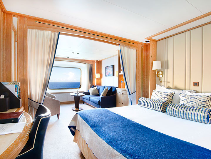 Guaranteed Suite** (chosen by Windstar)