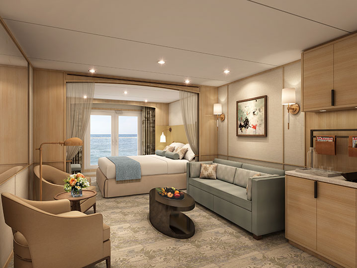 Guaranteed Balcony Suite** (chosen by Windstar)