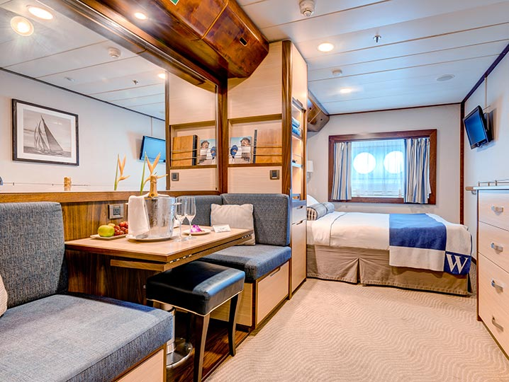 Guaranteed Cabin** (chosen by Windstar)